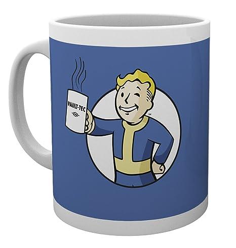 GB Eye, Fallout 4, Vault Boy Holding Mug, Taza: Amazon.es: Hogar