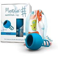 Merula Cup mermaid (blau) - One size Menstruationstasse aus medizinischem Silikon