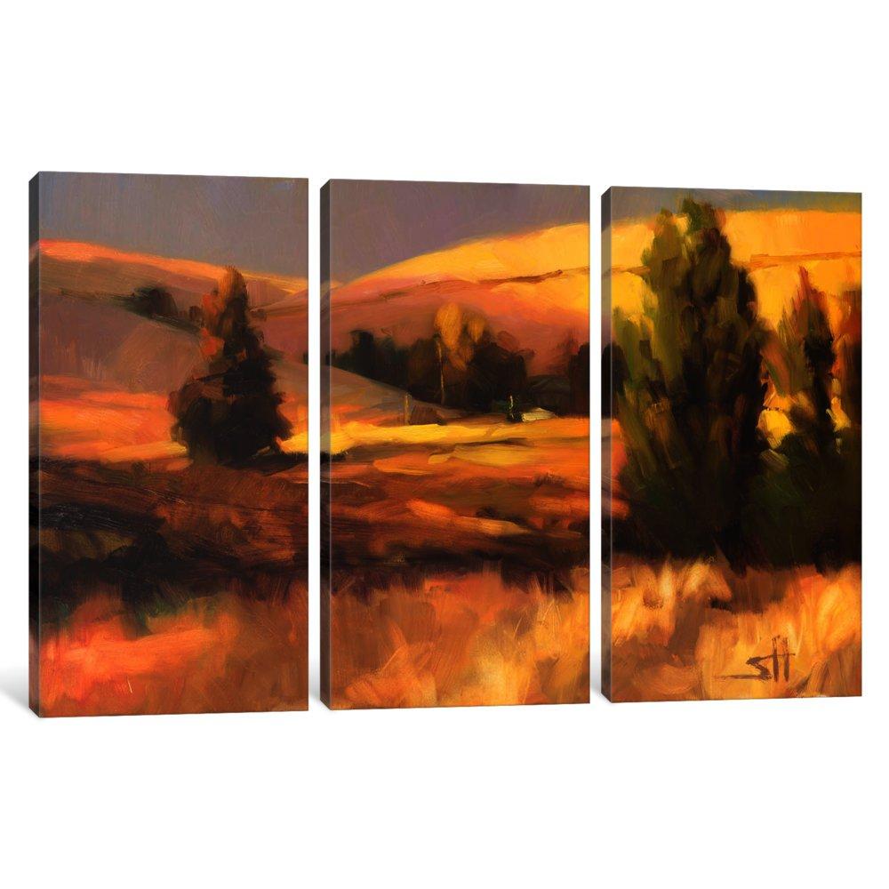 iCanvasART 3 Piece Homeland I Canvas Print by Steve Henderson 40 x 60 x 0.75-Inch