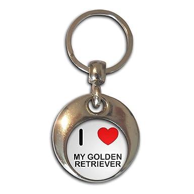 BadgeBeast.co.uk I Love My Golden Retriever - Cromo Ronda de ...
