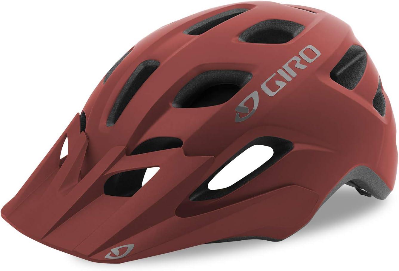 Giro Fixture Casco, Unisex, Matt Dark Red, 54-61 cm: Amazon.es ...