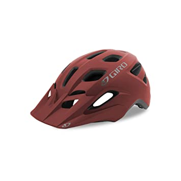 Giro Fixture Casco, Unisex, Matt Dark Red, 54-61 cm