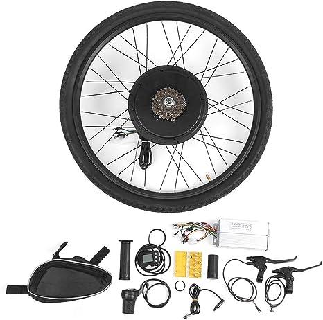 48V 1000W 26 Pulgadas Kit de conversión de Motor de Rueda Trasera de Bicicleta eléctrica Kit de conversión de Motor de Rueda Trasera Kit de conversión de Bicicleta eléctrica: Amazon.es: Deportes y