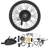 48V 1000W 26 Pulgadas Kit de conversión de Motor de Rueda Trasera de Bicicleta eléctrica Kit de conversión de Motor de…
