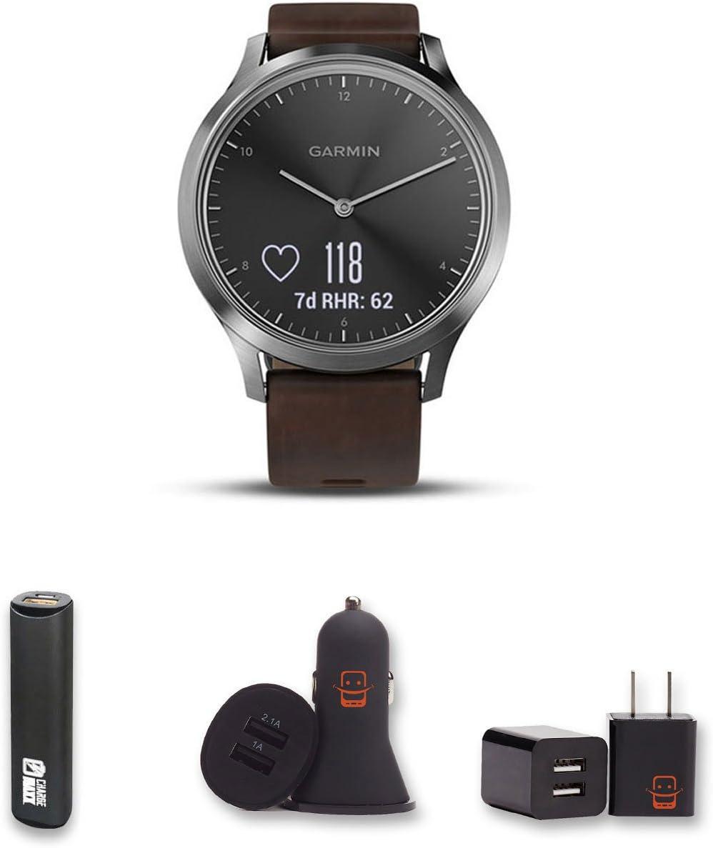 Amazon.com: Garmin Vivomove HR reloj inteligente híbrido con ...