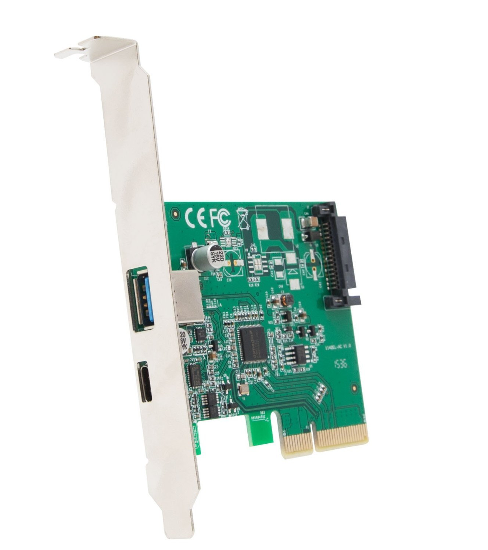 IO Crest IOCrest USB 3.1 Gen II 10Gbps 2-Port Full-Duplex Co