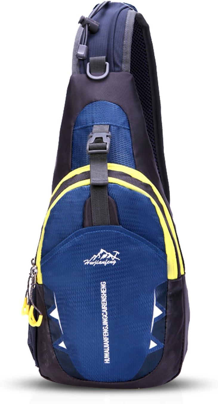 FANDARE Sling Bag Shoulder Backpack Crossbody Bag Hiking Men Women Polyester