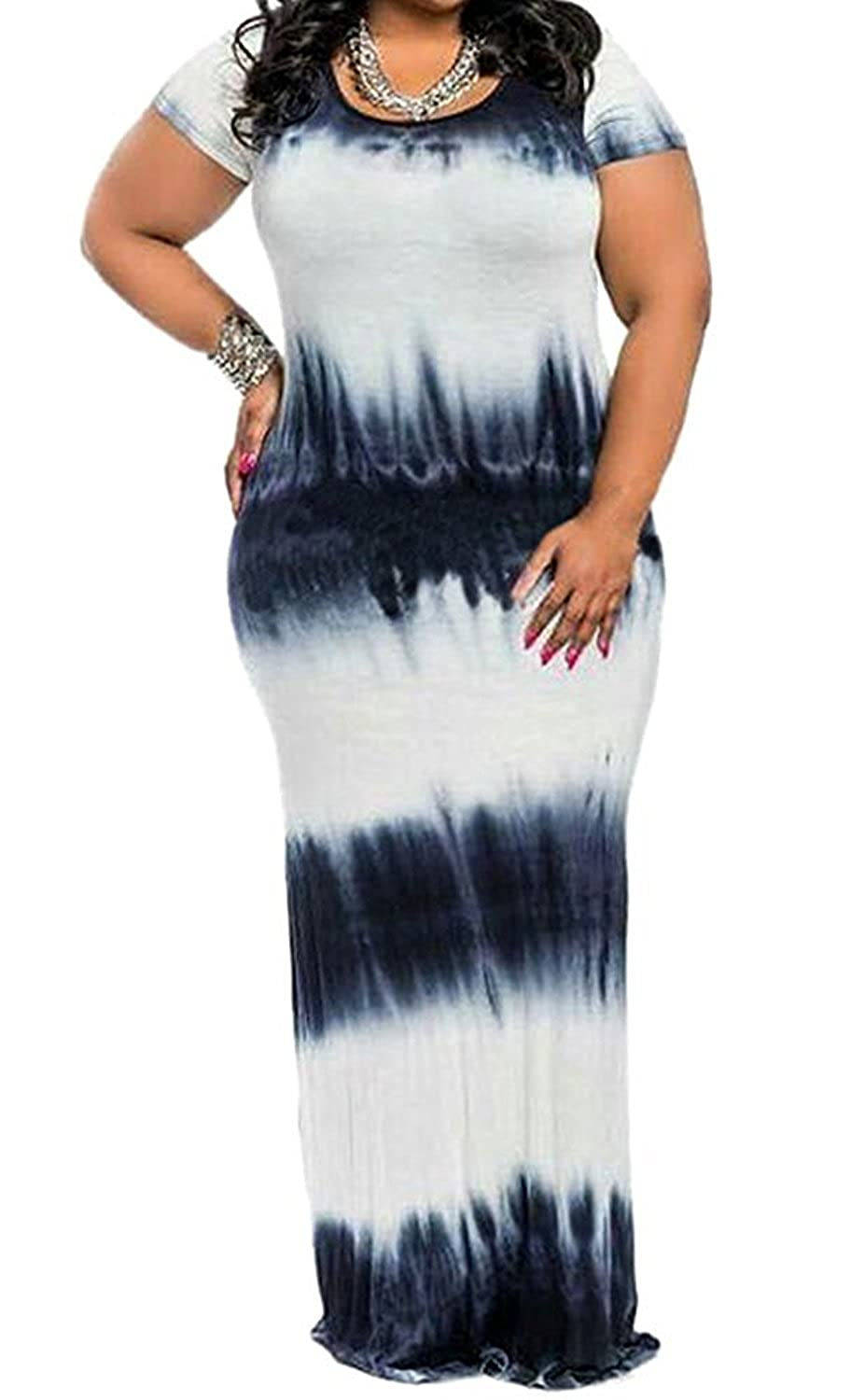 1e712a6a708 Fabric:Super Milk Silk+Spandex,wearlove don't authorize britned,which have  bad products and don't have brand name. Tie-Dye Print,Plus Size,Stretch  Spandex ...
