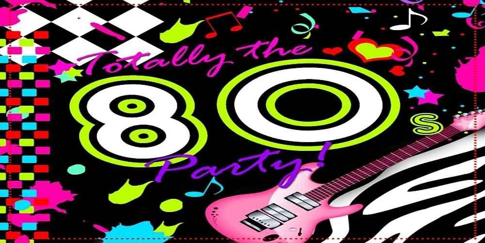 GladsBuy 80年パーティー 20フィート x 10フィート コンピュータプリント写真背景 他のテーマ背景 ACP-440   B076HSTHWQ