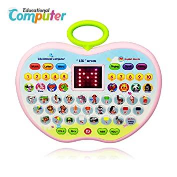 Educational Toys for 2 Year Olds Girl, Toddler Learning Toy 1-3 Old Boys Girl Baby Computer 6-12 Months Tablet