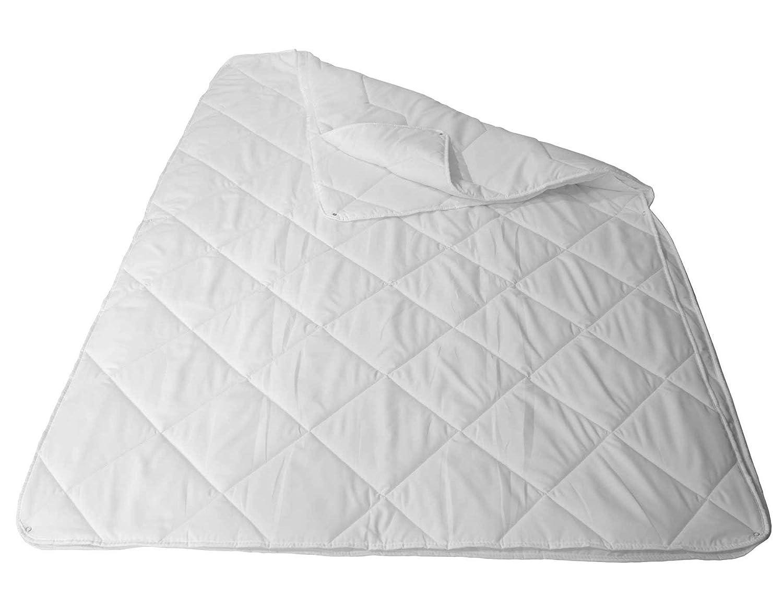 4 Jahreszeiten Bettdecke Ganzjahres Steppbettdecke - 200x220cm, Steppdecke mit Druckknöpfen Kombidecke Atmungsaktiv, Waschbar, Schnelltrocknend, Füllung 1056g & 704g Füllung