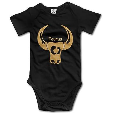 Amazon Zodiac Symbols Taurus Toddler Short Sleeve Bodysuits
