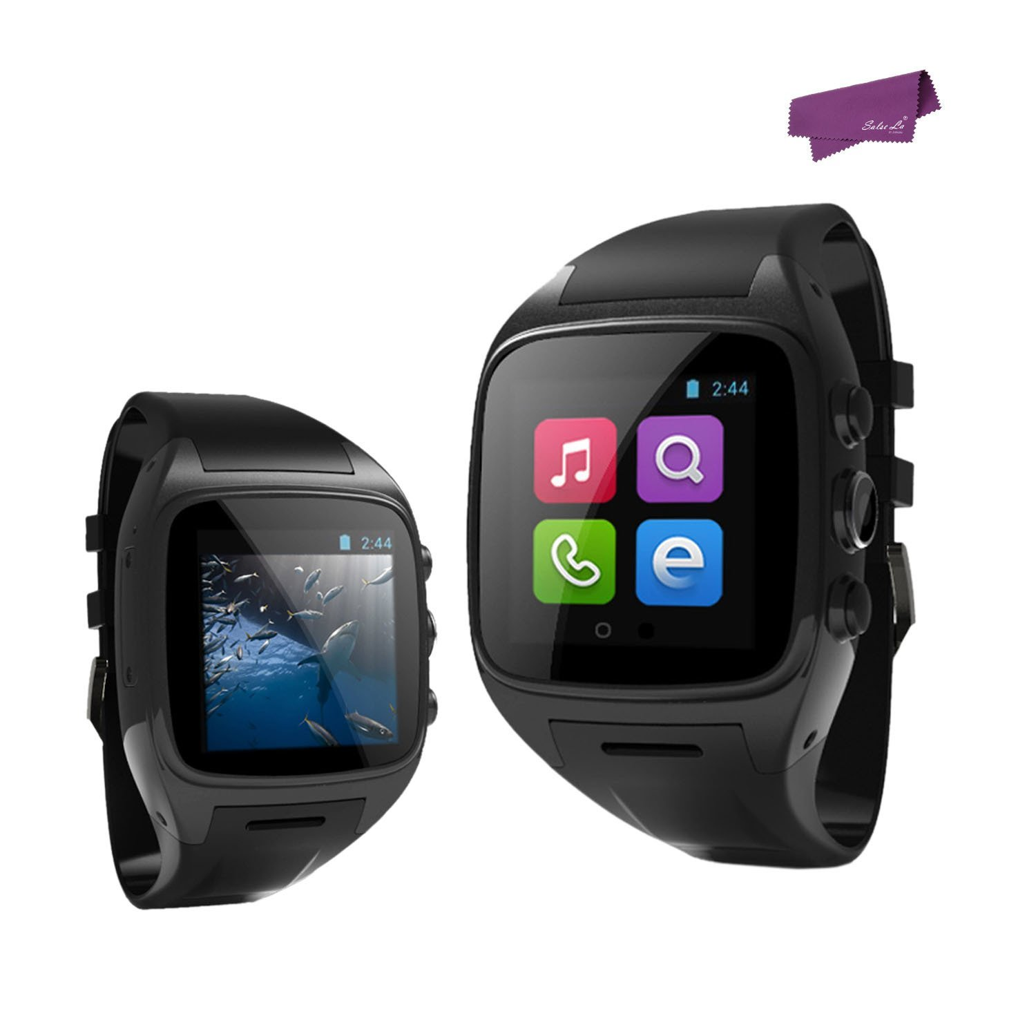 salesla WiFi GPS Bluetooth Sport Oficina muñeca Smart Watch ...