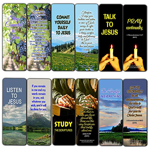 Keys to a Fruitful Life Scriptures Bookmarks (30 Pack) - Handy Bible Verses Perfect for Daily Inspiration (The Nine Fruits Of The Holy Spirit Catholic)
