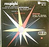Very Rare: George Sebastian - Respighi: Brazilian Impressions, Granados: Two Spanish Dances, and Chavez: Toccata For Percussion - 1955 Urania vinyl LP.