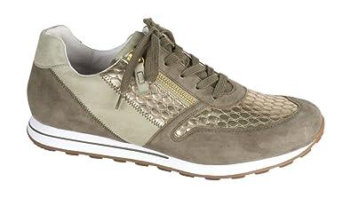 große Auswahl an Farben und Designs gutes Geschäft Shop für Beamte Gabor Sneaker Damen Oliv mit Gold Größe 43: Amazon.de ...