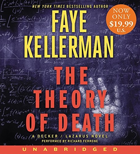 The Theory of Death Low Price CD: A Decker/Lazarus Novel