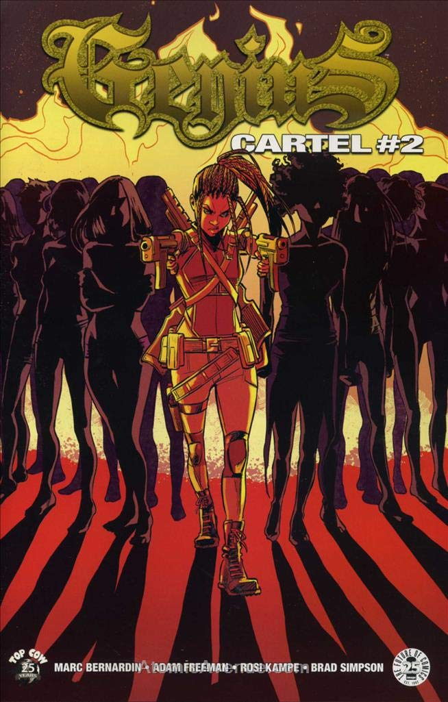 Amazon.com: Genius Cartel #2 VF/NM ; Image comic book ...
