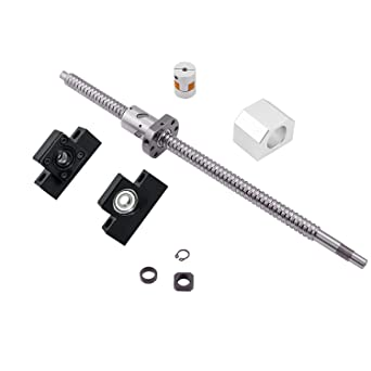 MISS RM2010 Ballscrew L1000mm with Ball Nut Both end Machined