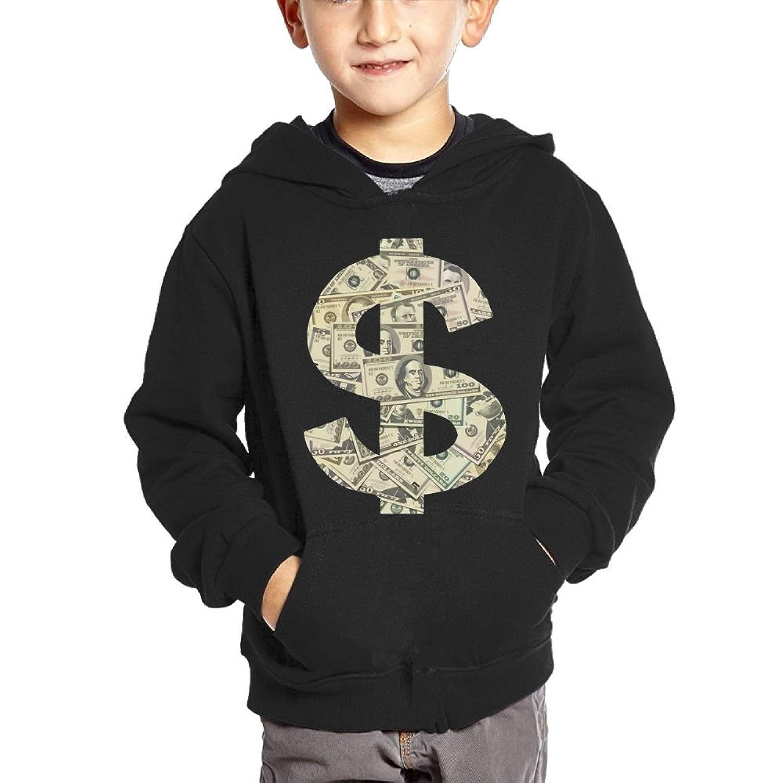 Dollar Sign Cartoon Baby Boy Children's Lightweight Pullover