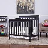 Dream On Me Aden 3 In 1 Fixed Side Convertible Mini Crib,