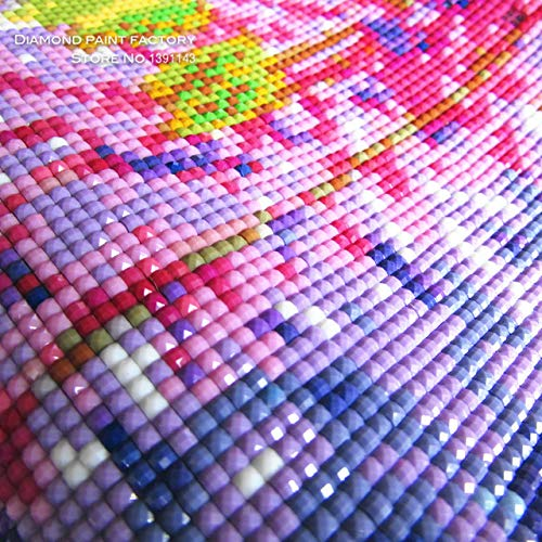 DishyKooker New Mosaic Diamond Embroidery DIY 3D Painting Needlework Cross Stitch Pattern Square Rhinestone Lemon and Cup Multigang Decor Size 35X35cmX3pcs by DishyKooker (Image #3)