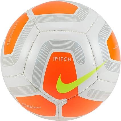 Nike Pitch Premier League Fútbol 2019-2020, Blanco/Naranja, Talla ...