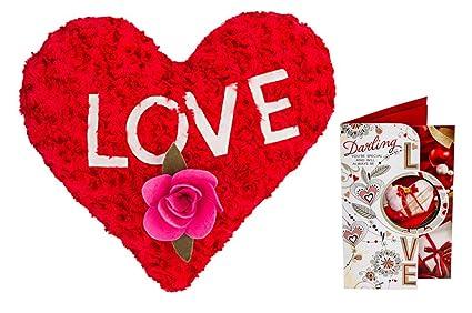 buy celebrations plush red love n valentine card combo 12 inch