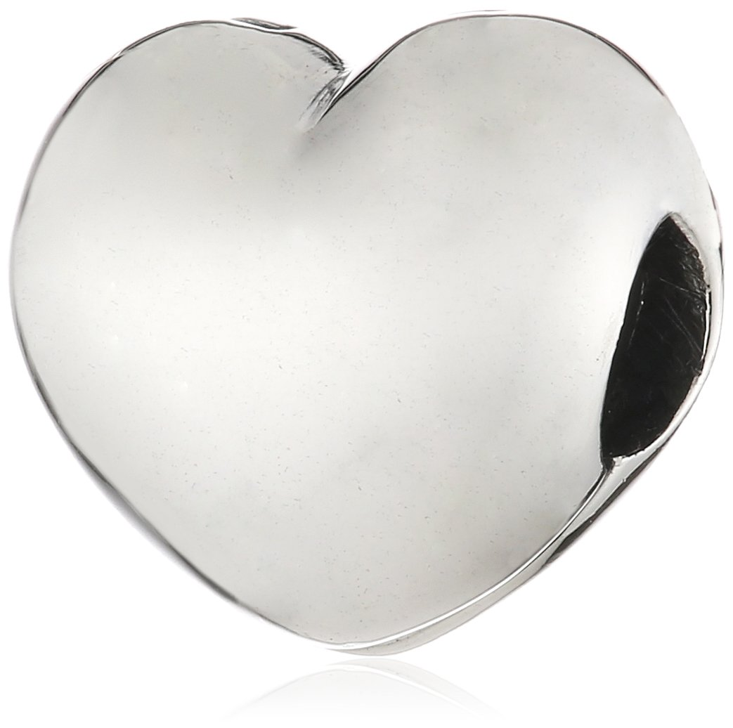 b923c494c32 Galleon - Pandora Sterling Silver Steady Heart Clip Charm 791279
