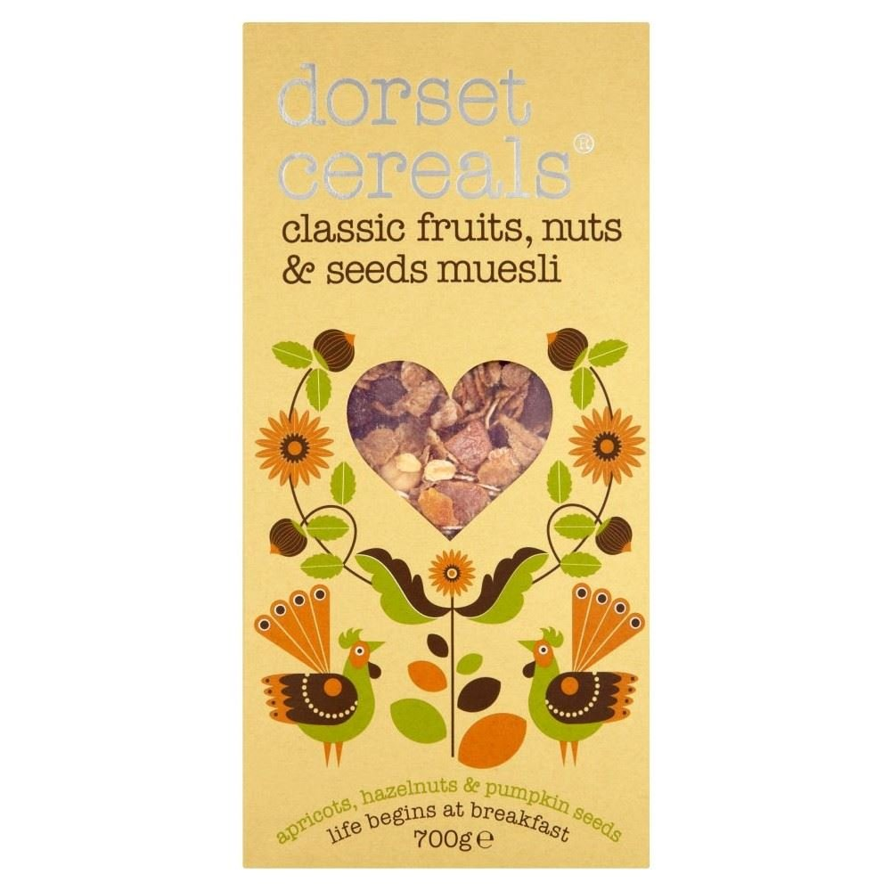 Dorset Cereals Classic Fruits, Roasted Nuts & Seeds (700g) - Pack of 6