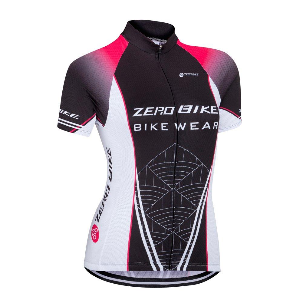 ZEROBIKE® Women / Ladies Short Sleeve Cycling Jersey Shirt karru