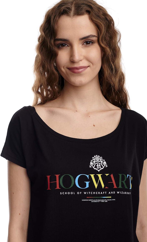 Harry Potter Camiseta para mujer de Hogwarts: Amazon.es: Ropa ...