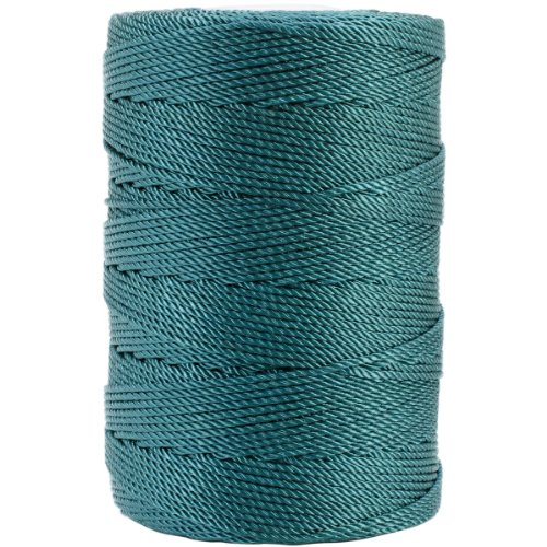 Iris 18-478 Nylon Crochet Thread, 197-Yard, Teal ()