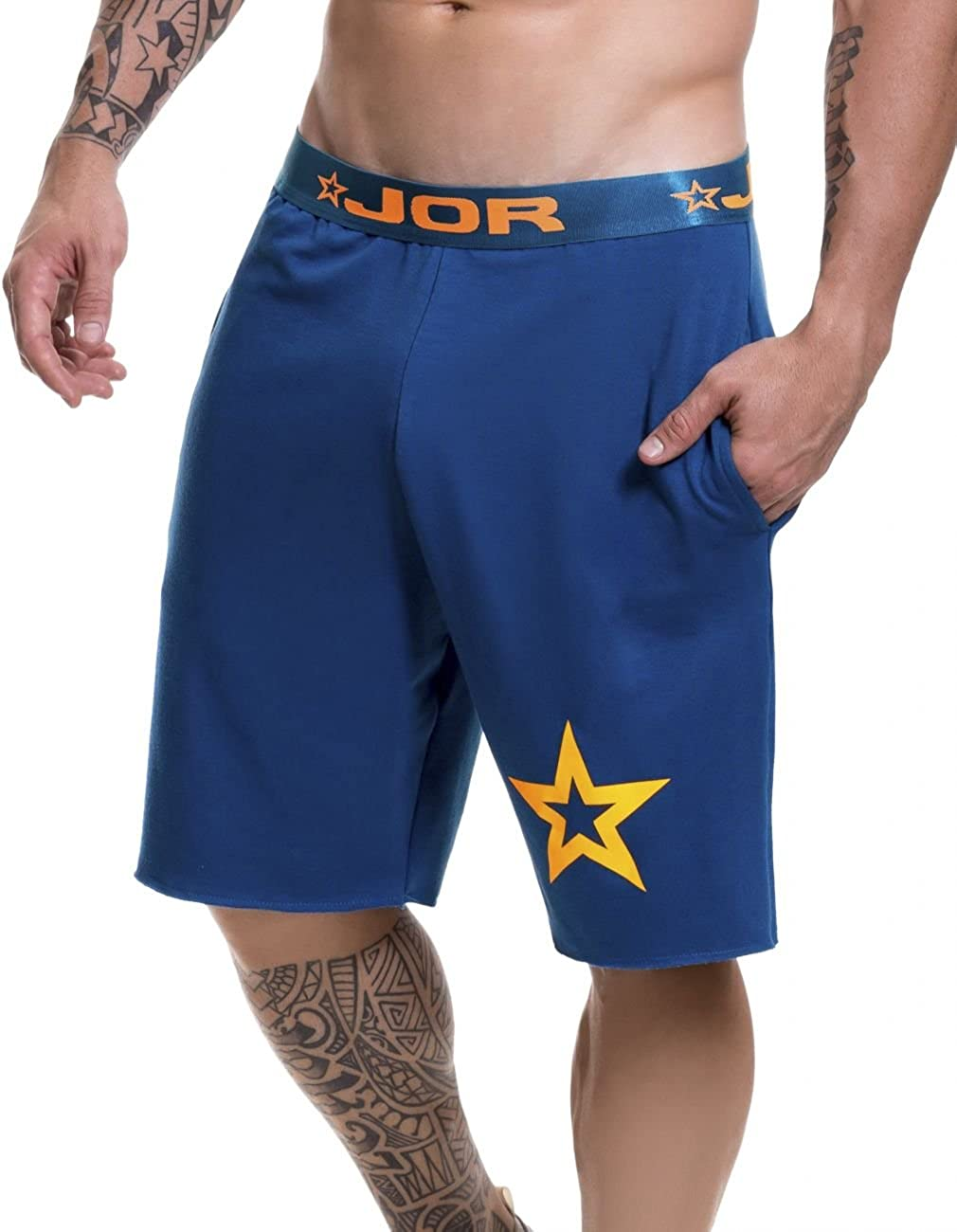 Petrol_style_520 Large J&Or JOR Masculine Athletic Shorts Sports Wear Black