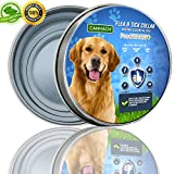 Flea and Tick Collar for Dogs 8 MONTHS Protection (Adjustable) Protects Dogs and Kittens, Adults, Seniors | -Hypoallergenic, Waterproof Protection |Allergy-Free Prevention | One Size Fits All