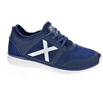 Munich Sport X-Sock - Zapatillas Bajas Hombre Azul Talla 43: Amazon.es: Deportes y aire libre