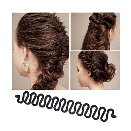 Hengsong 2pcs Outil De Twist Cheveux Tressage Rapide Tresse