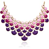 Jane Stone Best Selling Newest Fashion Necklace Vintage Openwork Bib Statement Jewelry
