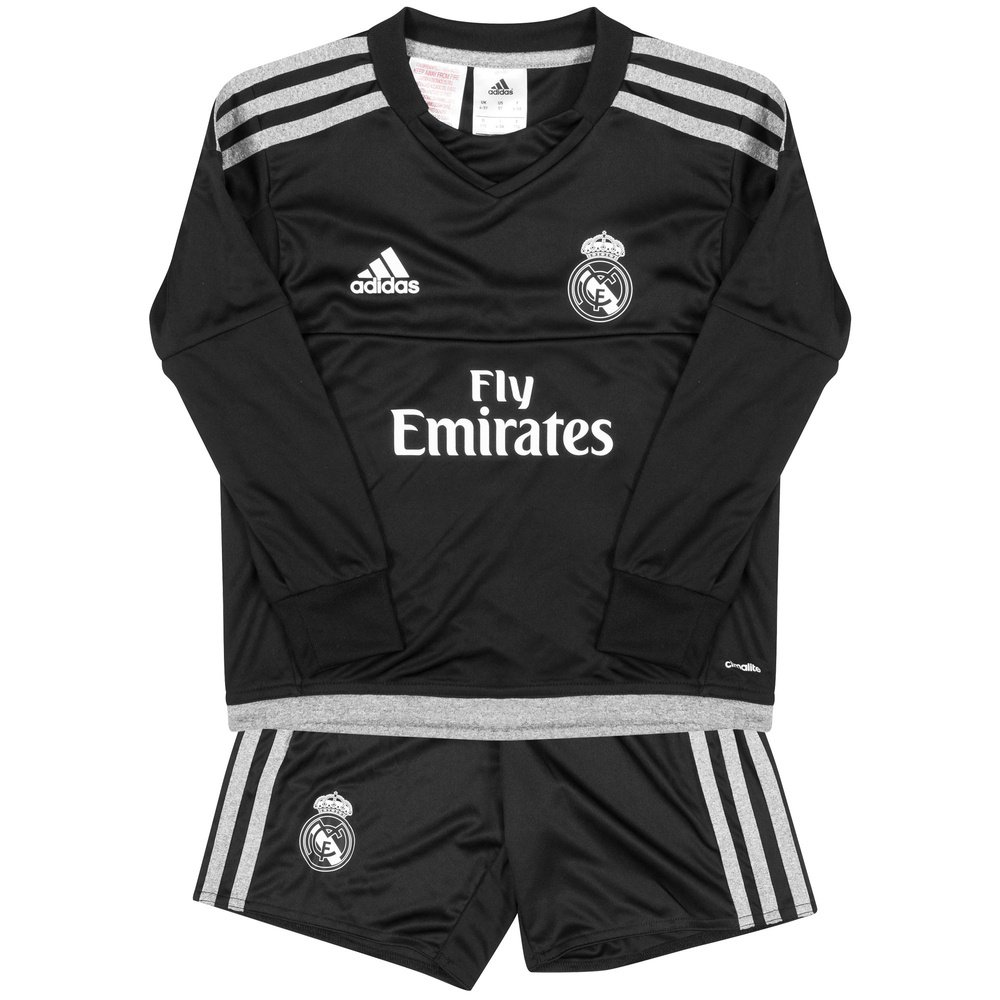 a719aa5c33a Galleon - 2015-2016 Real Madrid Adidas Home Goalkeeper Mini Kit