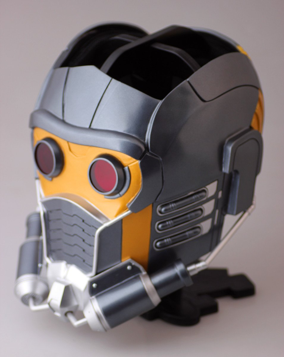 Gmasking The Galaxy:Star-Lord Wearable Helmet Collectibles 1:1 Replica Props Gray