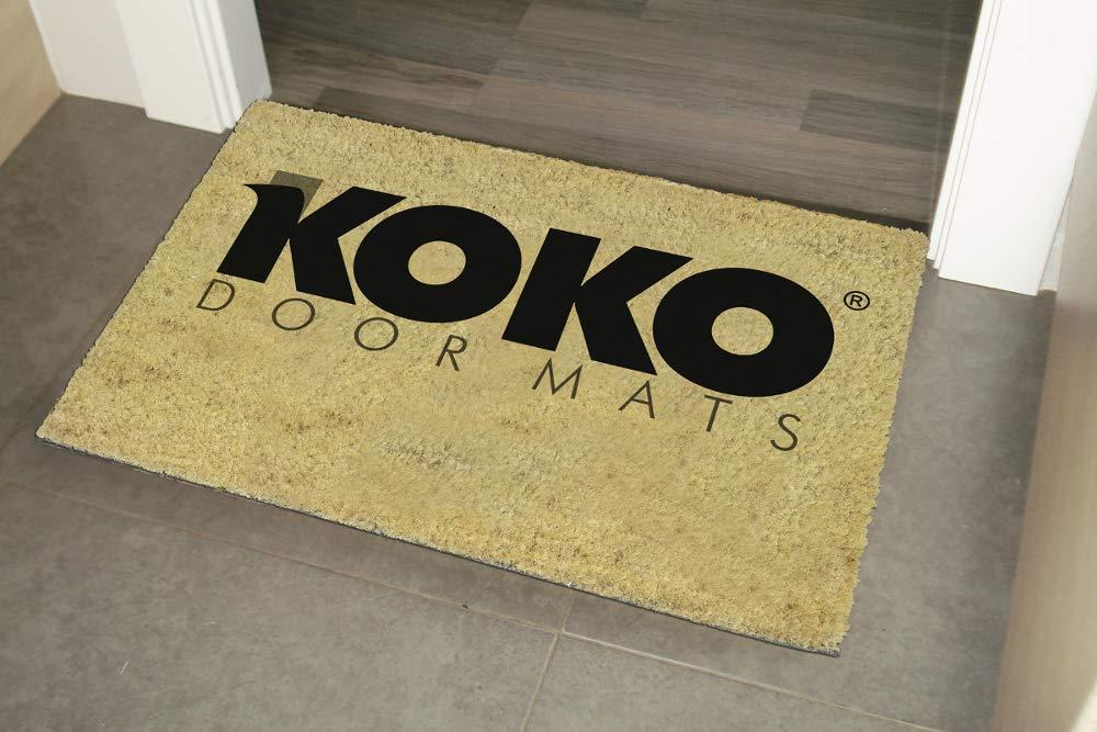 Coco koko doormats Felpudo con Dise/ño Mas Y Menos PVC 60 x 40 cm