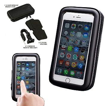 Soporte para teléfono de bicicleta, soporte impermeable para ...