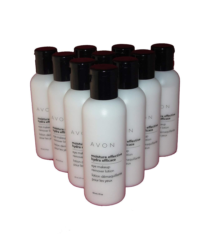 Lot of 10 Avon Moisture Effective Eye Makeup Remover Lotion