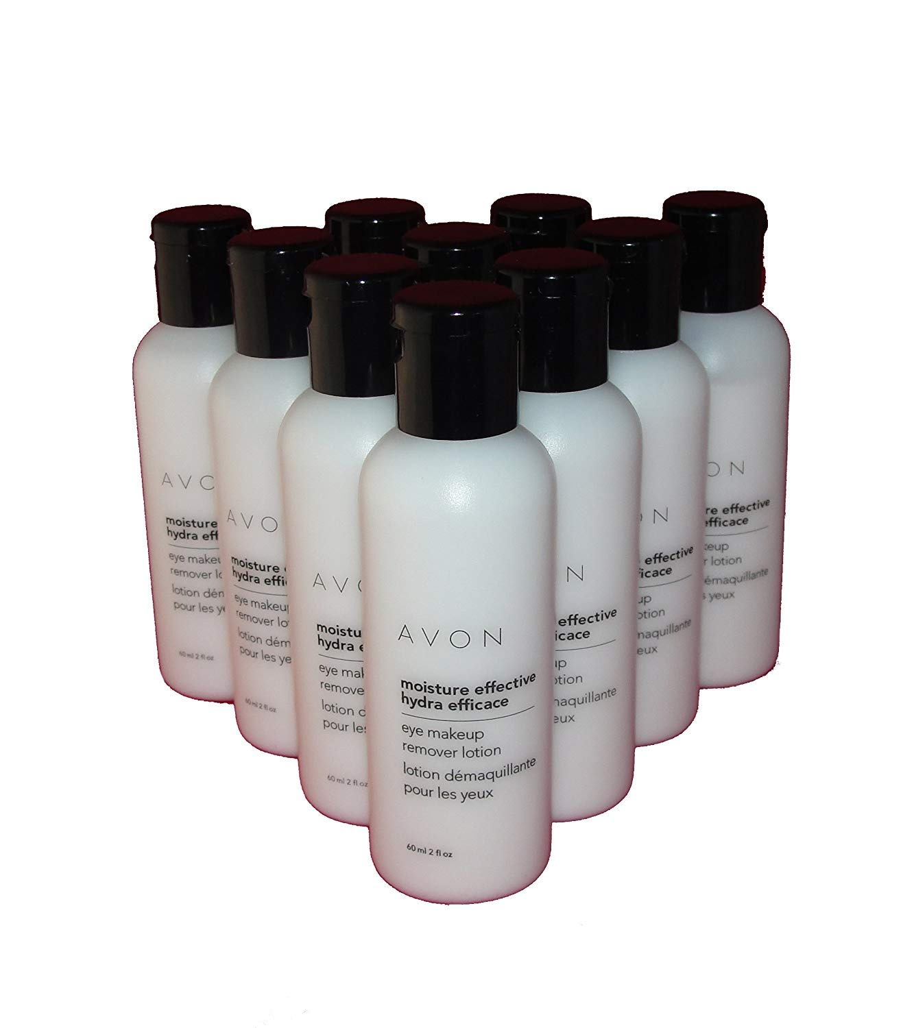 Lot of 10 Avon Moisture Effective Eye Makeup Remover Lotion by Avon