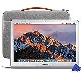 Apple MQD32LL/A + Case 13.3' MacBook Air 2017 + Inateck Case, 1.8GHz Intel i5 Dual-Core, 8GB RAM, 128GB SSD, Silver (Newest Version)