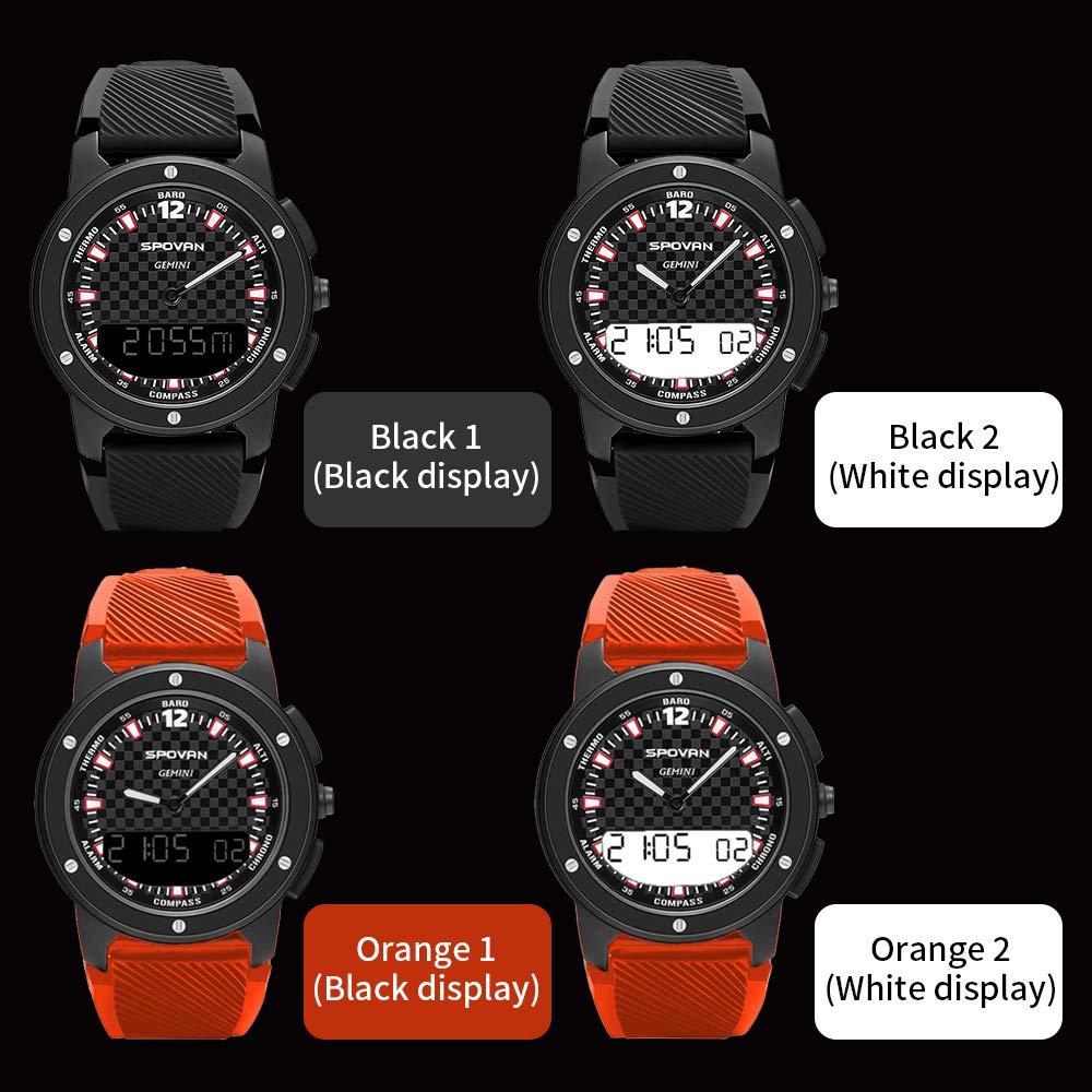 Lixada Spovan Gemini Reloj Cronómetro Inteligente Digital ...