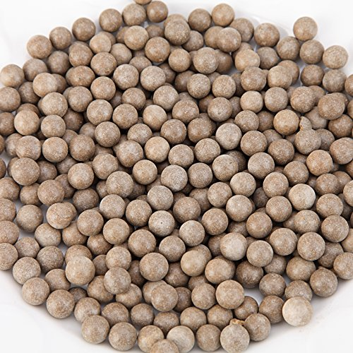 "L Continue Pack 1500 Slingshot Ammo 3/8"" Biodegradable Hard Clay Ball - Soil Color."