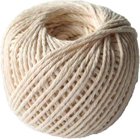 A Cotton Macrame Cord 2mm//100 Yards String Cord Colored Cotton Rope Craft Cord Natural Macrame Rope Sewing and Crafting for DIY Crafts Knitting Plant Hangers Handmade