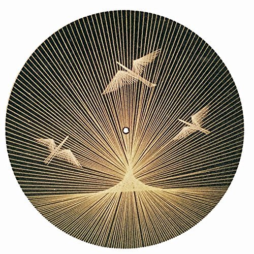 Taz Studio: Turntable Slipmat - Specially designed Cork. psychedelic geometric 4320279514