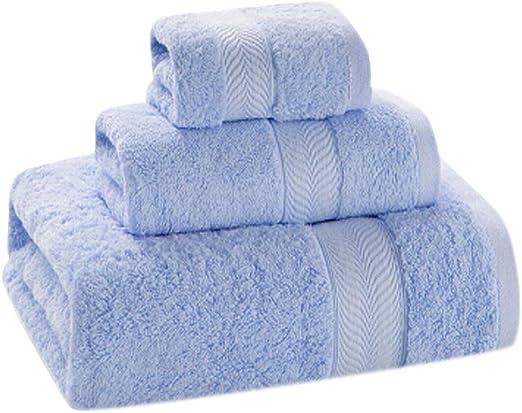Toallas con Tres Juegos de Toallas de algodón Suave (Incluyendo ...